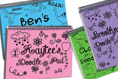 Notebook Doodle Pads