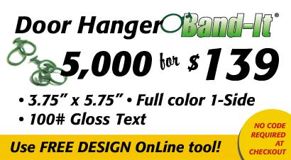 Lawn Care Door Hanger Design lawn care door hangers for your business