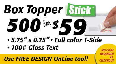 Boxtopper Stick Special 500 for 59