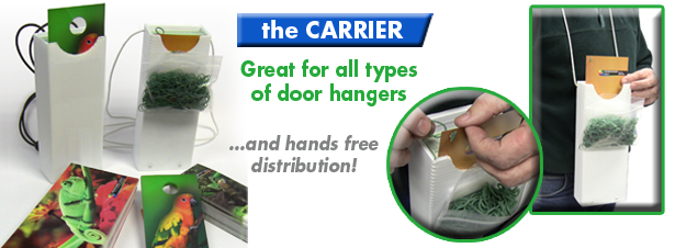 Door Hangers Carrier