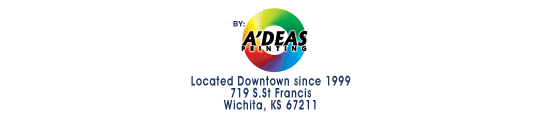 Adeas Printing located in Wichita, KS - your wichita printer