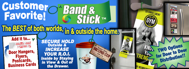 What are Band-It and Stick Products