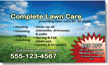 lawn care door hangers for your business