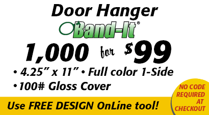 Door Hangers Special 1000 Band-It for 99