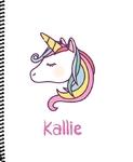 Notebook_Unicorn