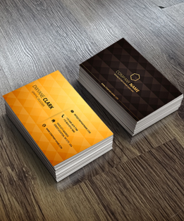BUSINESS CARDS: Standard