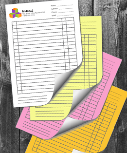 CARBONLESS / NCR FORMS