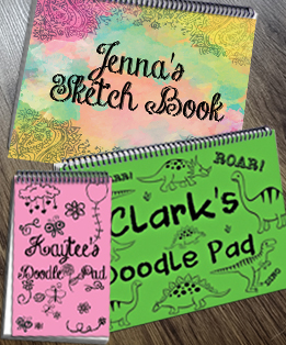 NOTEBOOKS / DOODLE PADS