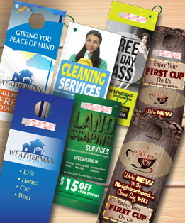 DOOR HANGERS - Mobile Friendly