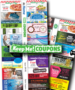 KEEP ME COUPONS