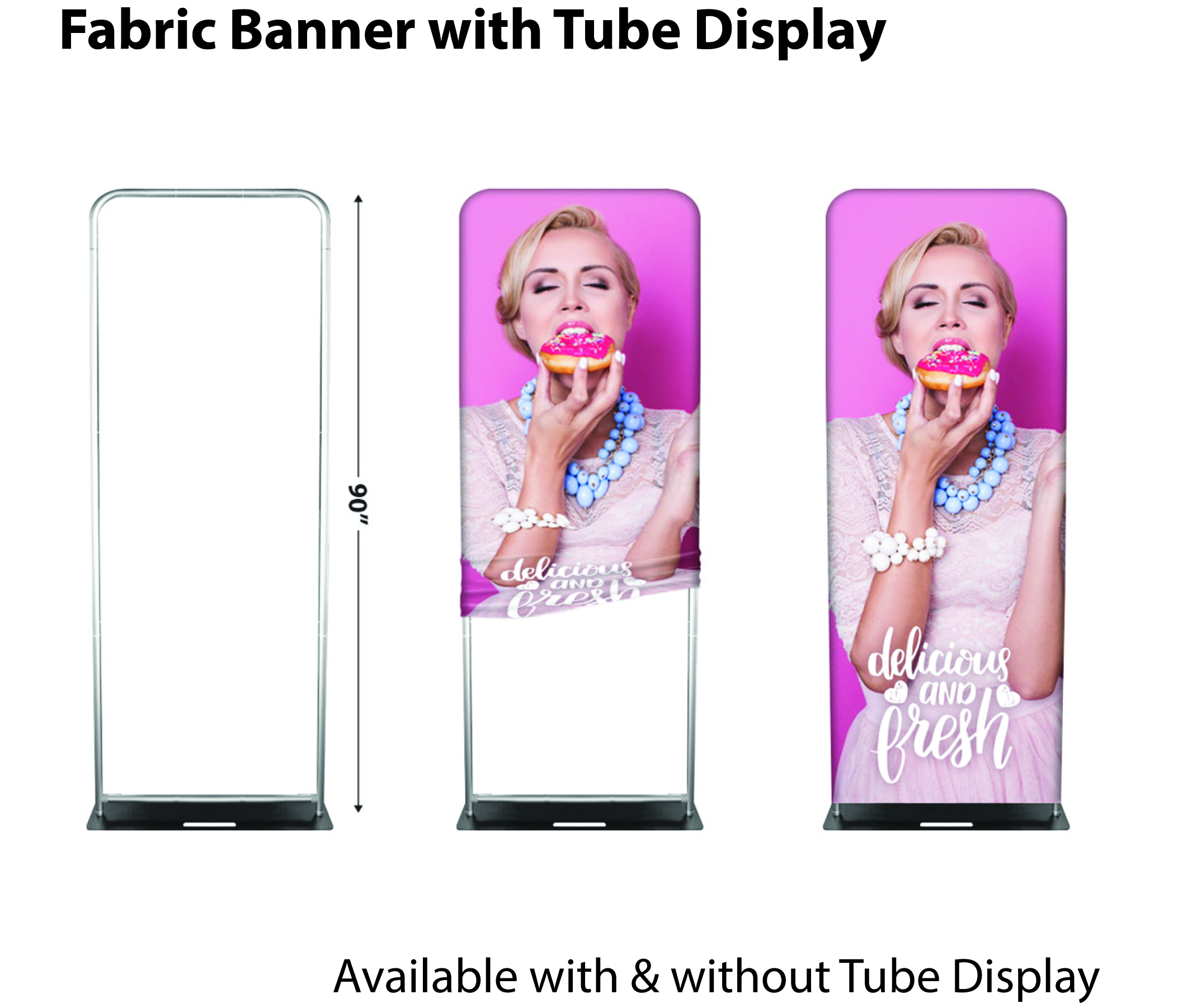 Fabric Banner Tube Display