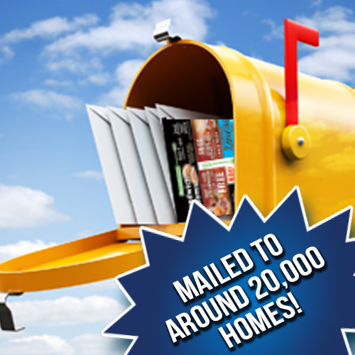 KMC Mailed to 20,000 homes