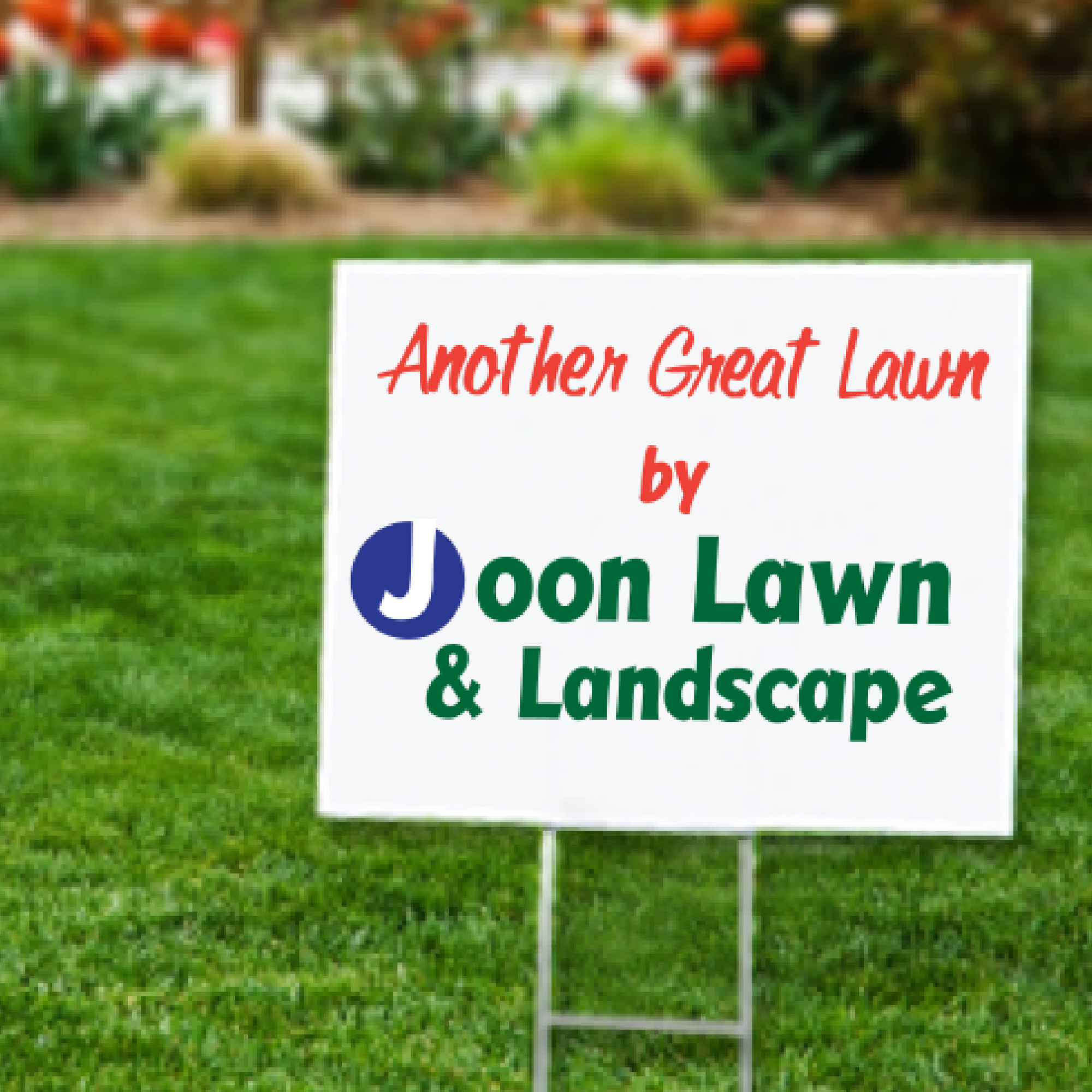 lawn signs and political yard signs printed in full color