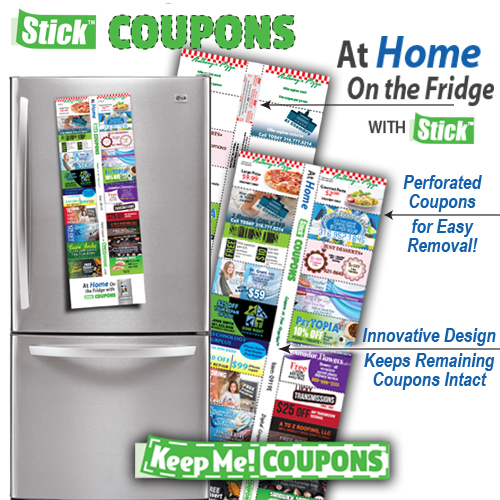 Coupons At Home With Stick