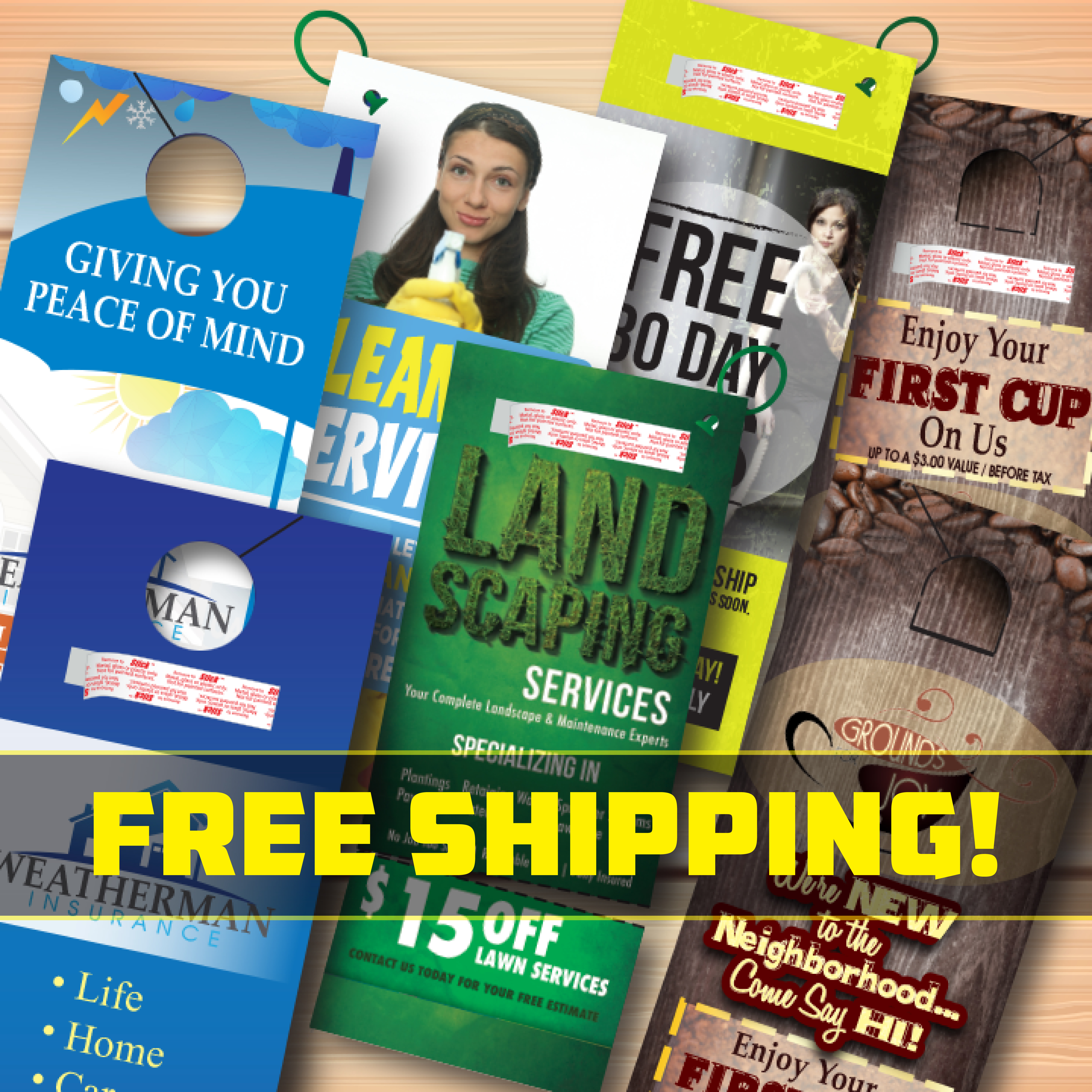 All Door Hangers Free Shipping