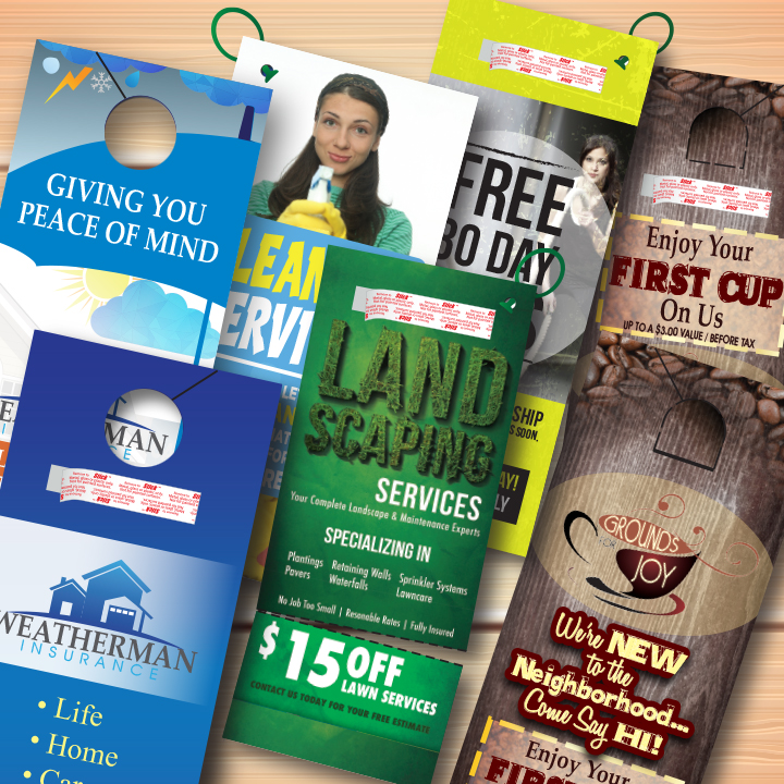 Door Hangers quality door hangers | adeas printing | wichita, ks