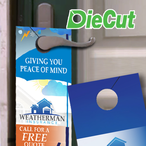 Door Hanger Die Cut Hole