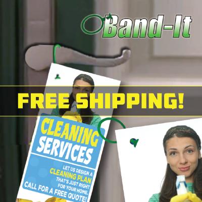 Door Hangers Band-It Free Shipping